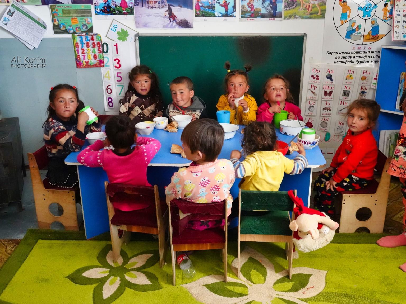 Langar, Tajikistan, Kindergarten class