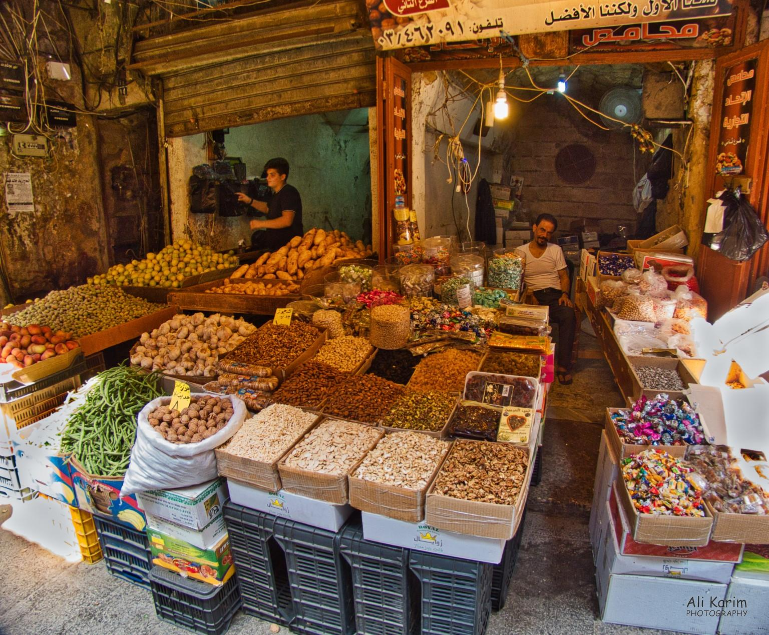 Tripoli Lebanon Nuts and dried fruits, and of course, vegetables