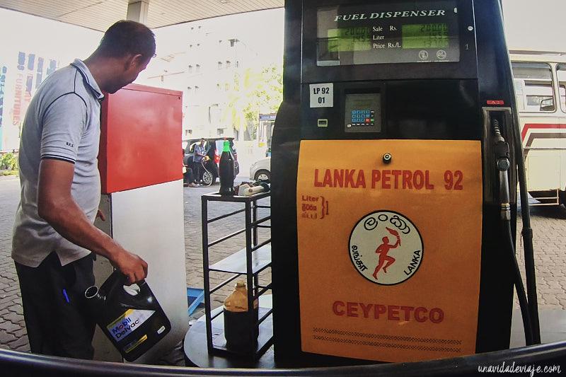 gasolina tuk tuk