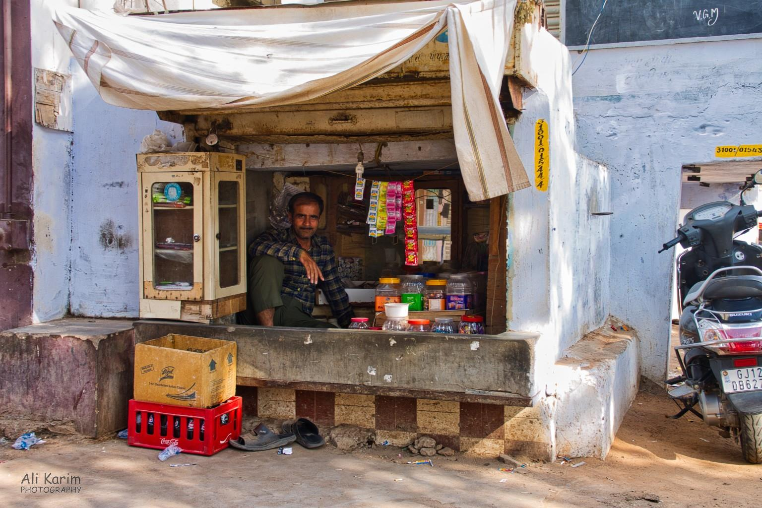 Bhuj, Kutch, Gujarat Enterprising village shopkeeper