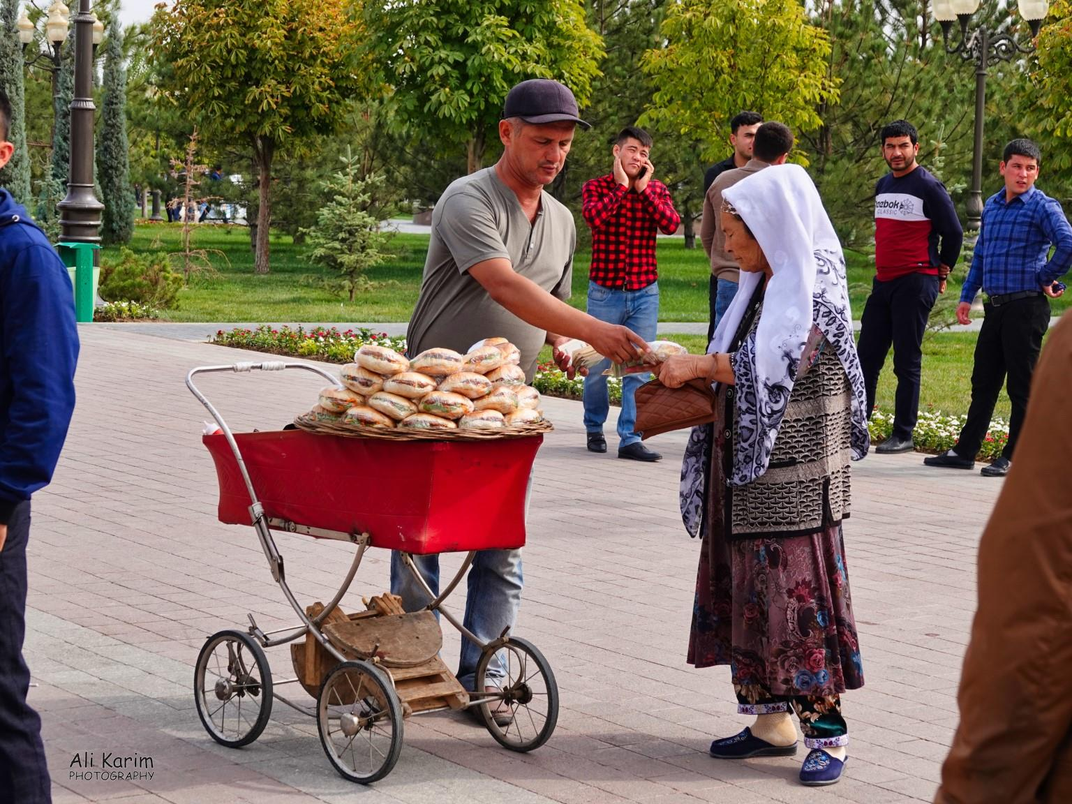 More Samarkand, Those prams come in very handy for sandwiches-on-the-go trade