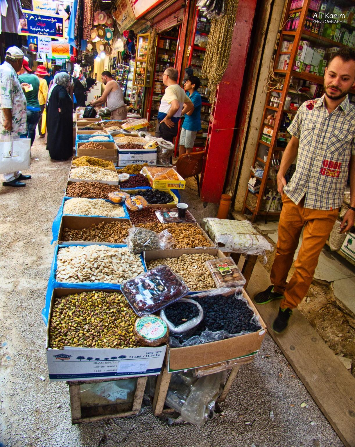 Tripoli Lebanon More nuts etc. Ali Khawaja, our guide, is on the left in the Hawaiian shirt