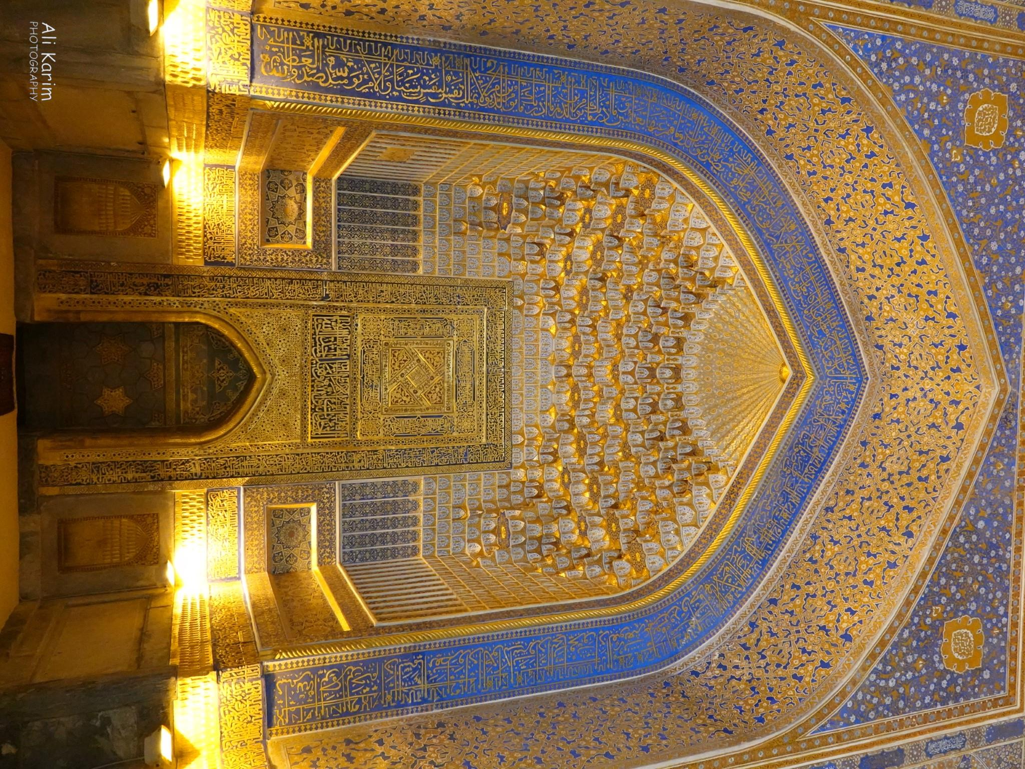 More Samarkand, Inside an elaborate mosque