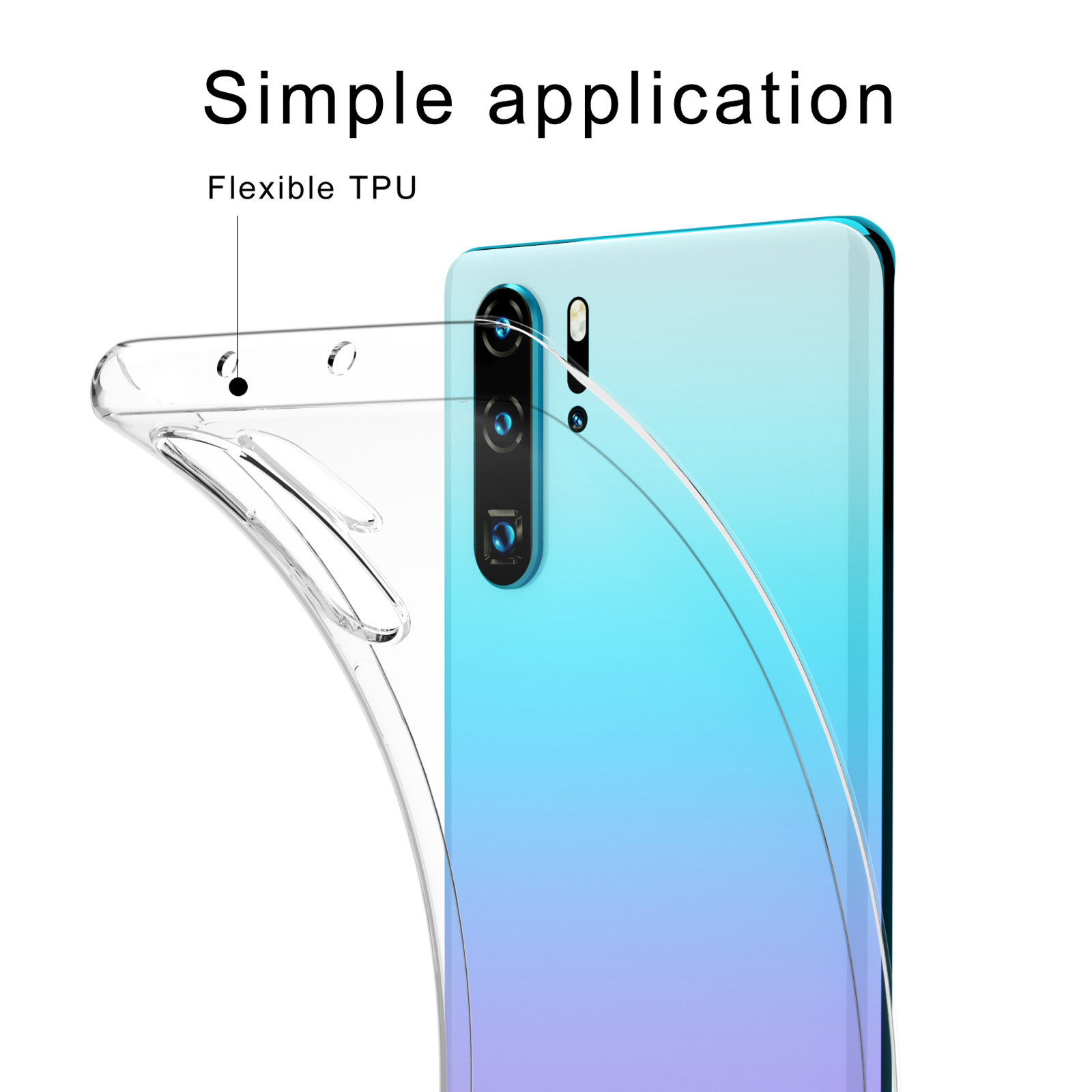 Indexbild 14 - For Huawei Mate 30 20 P30 P20 P10 Lite Pro P Smart Case Cover Thin Tough Gel TPU