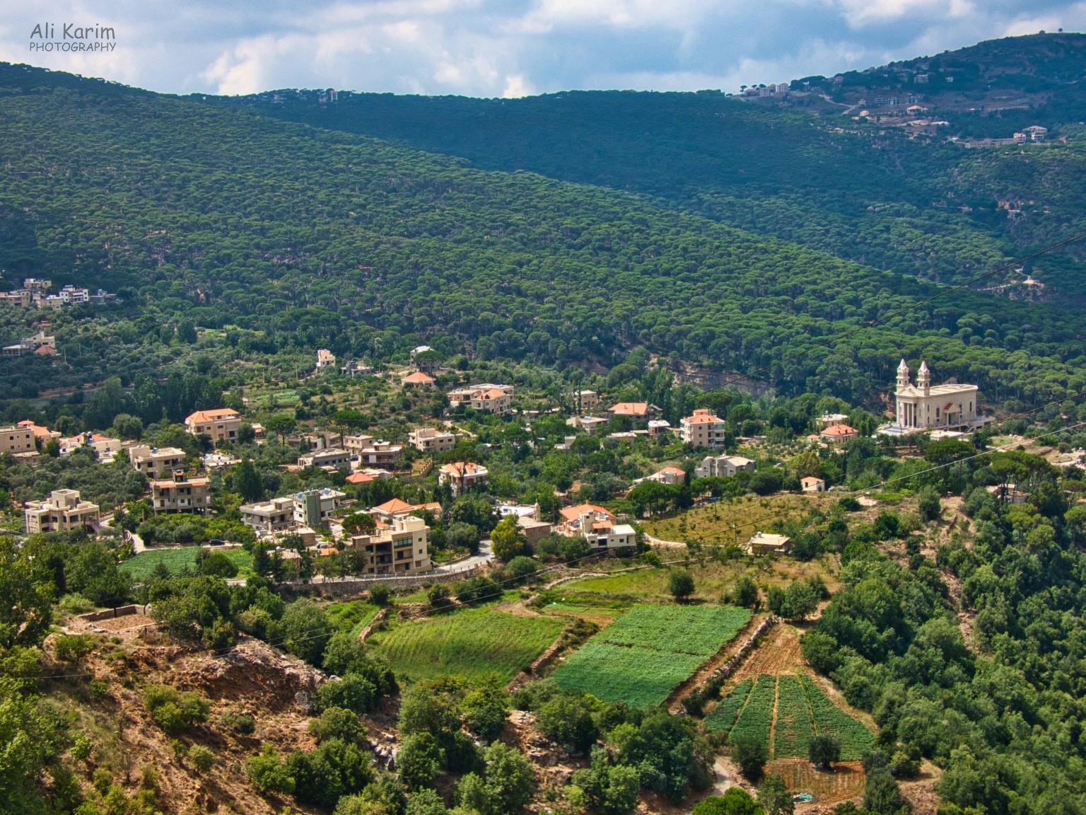 Druze and the Chouf Mountains Beautiful small town, nestled in nature
