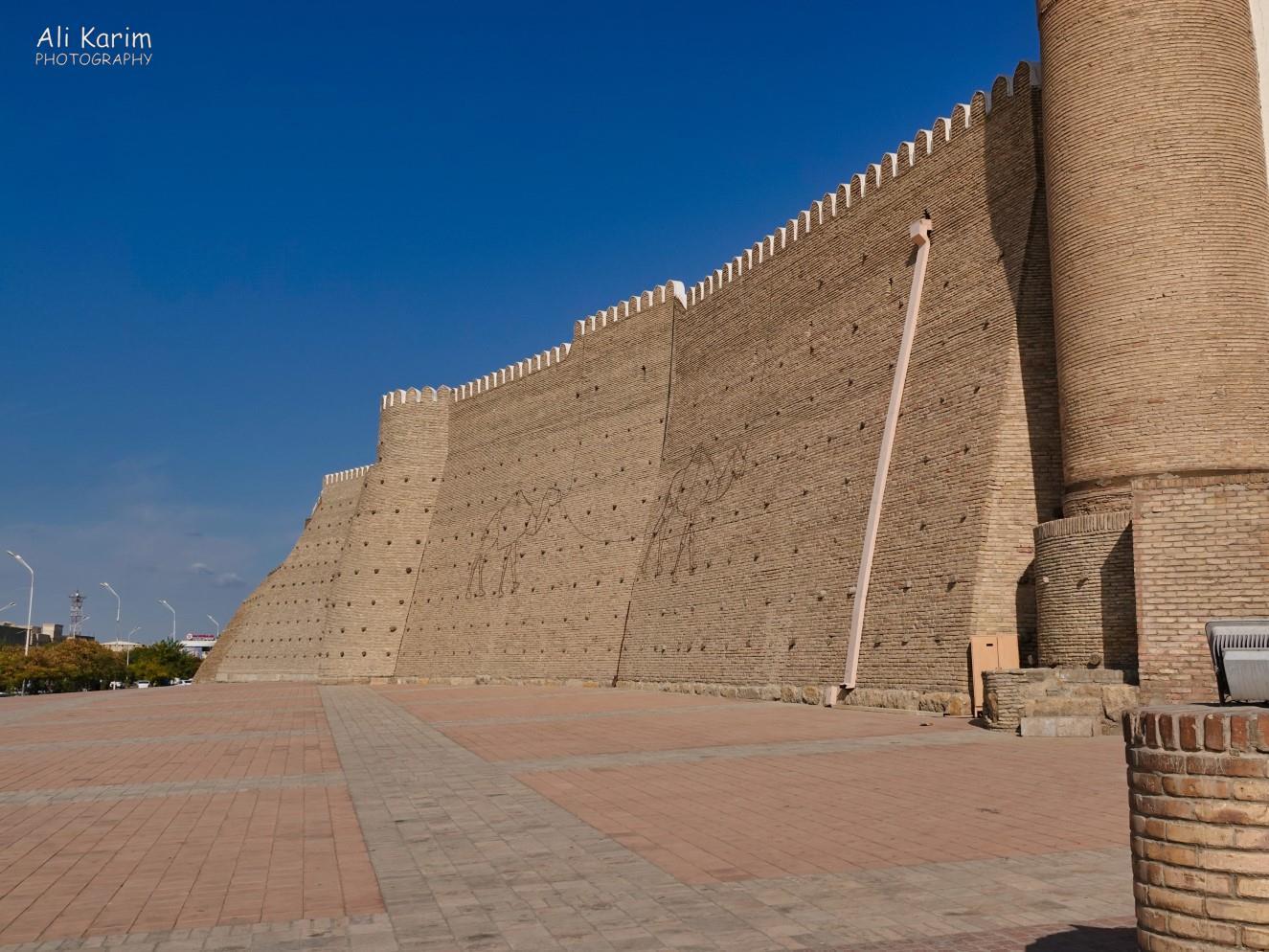 Bukhara, Oct 2019, Walls of the Arc Citadel