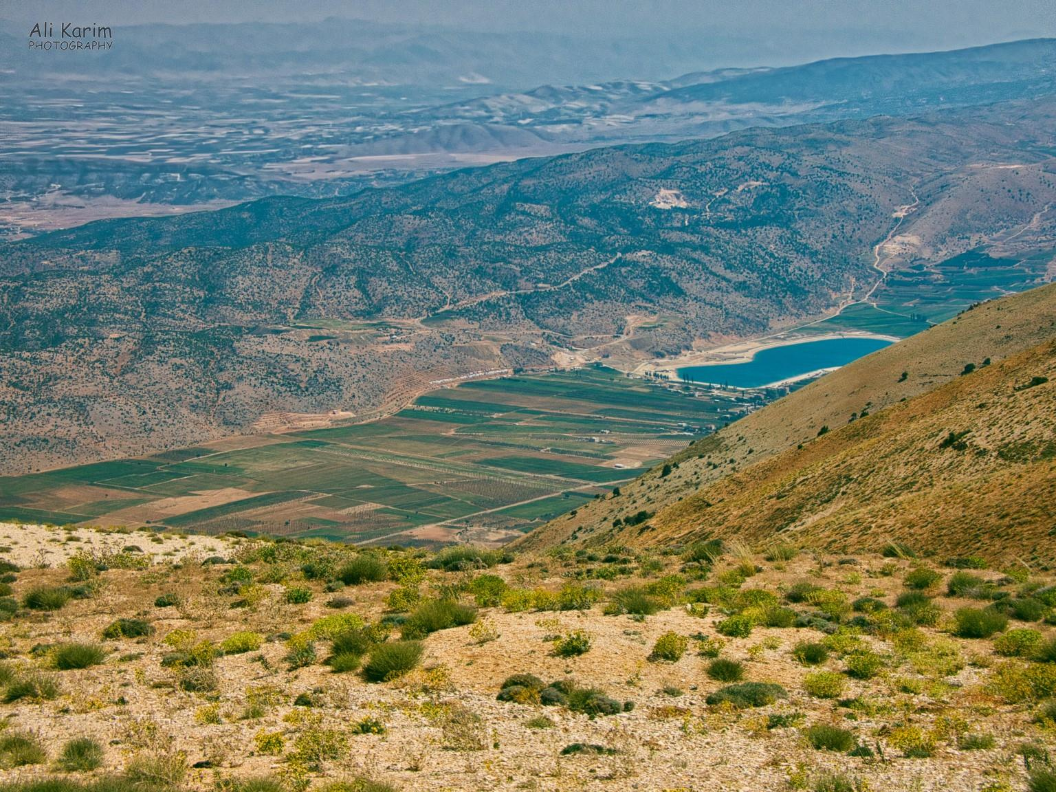 Bsharri and Quadisha Valley View of Yammoune farming community in the Bekaa valley