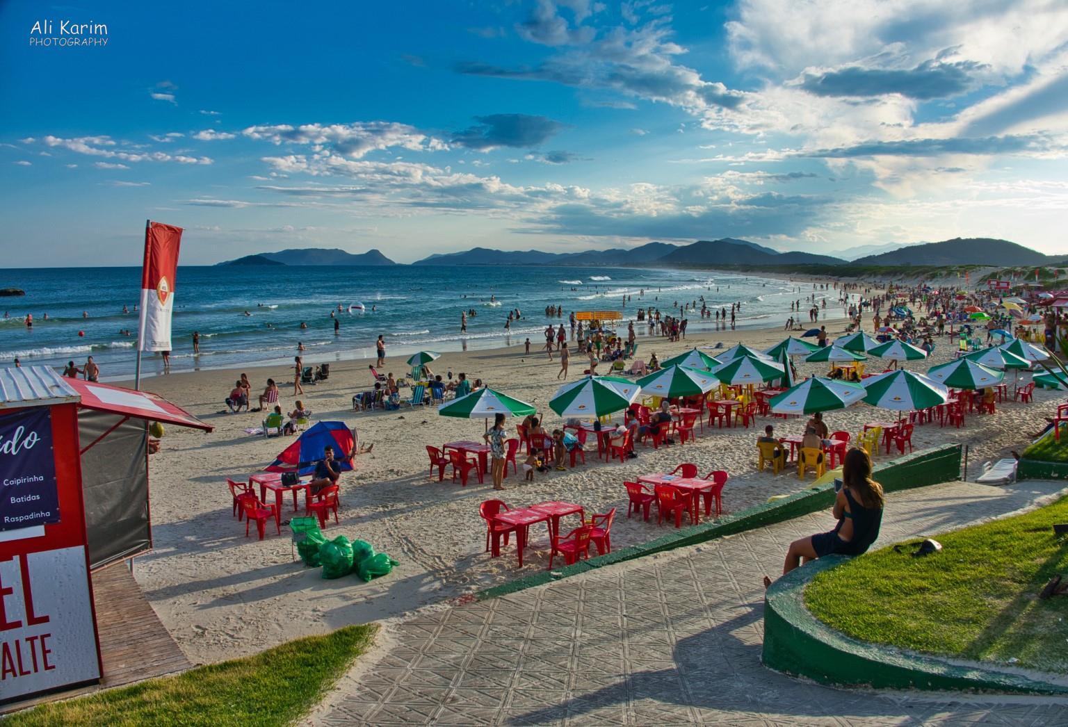 Florianópolis, Brazil Praia da Joaquina, near our B&B