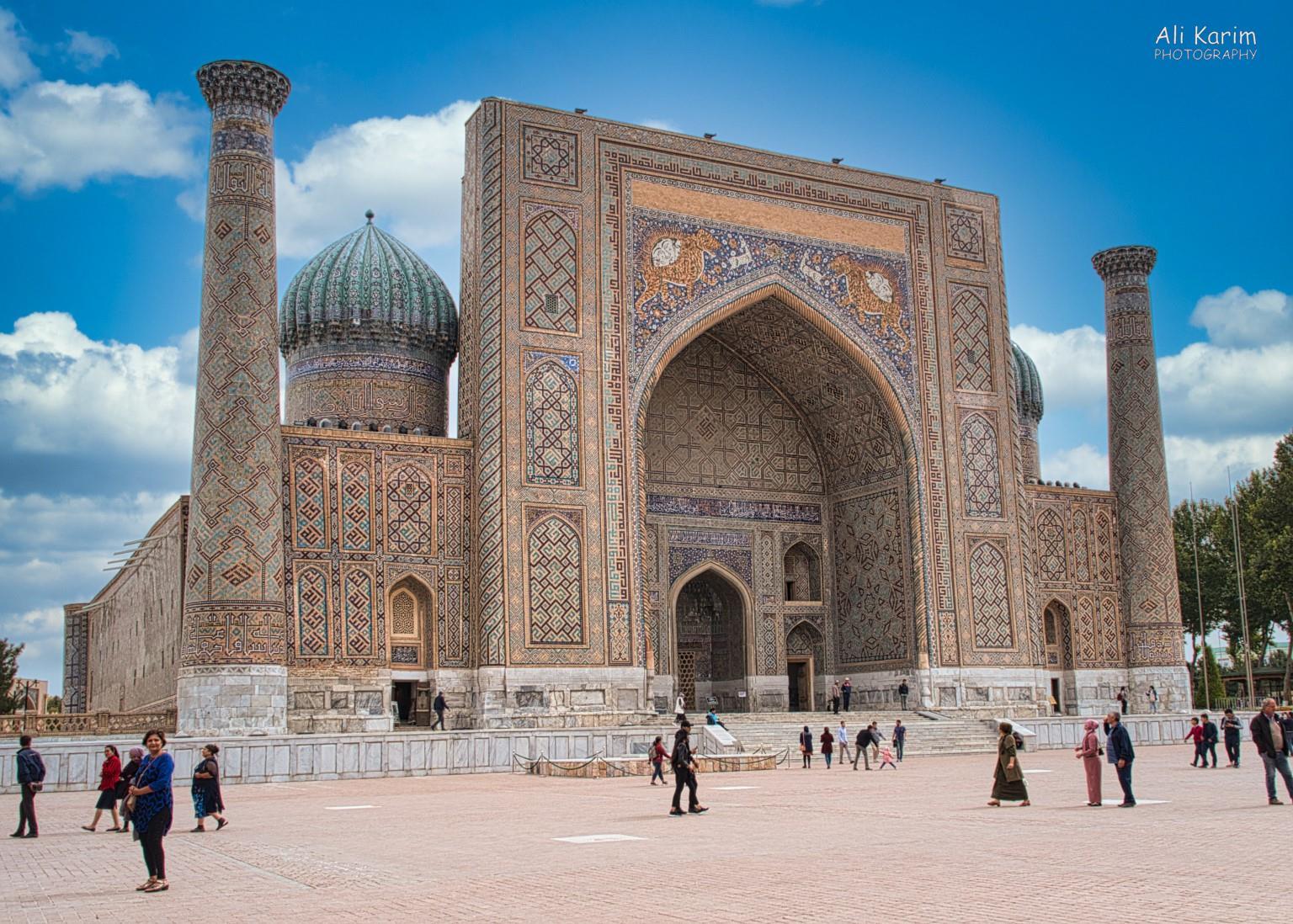 More Samarkand, The 3rd Madrassah, Sher-Dor Madrasah
