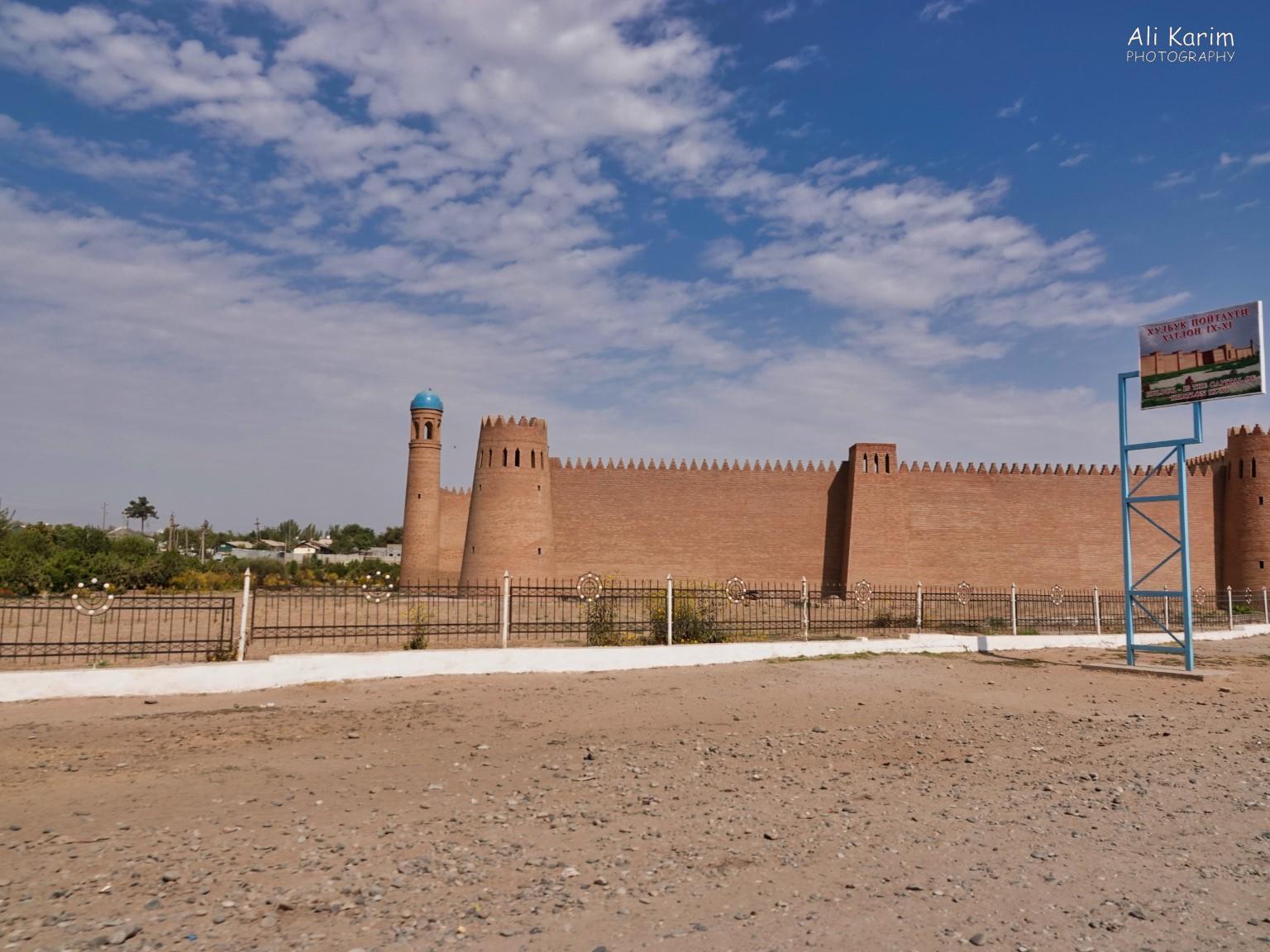 Dushanbe, Tajikistan Interesting restored castle at Hulbuk town