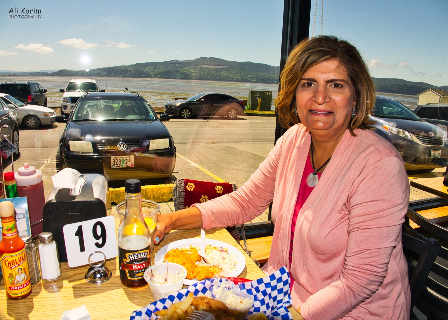 Oregon Coast Hwy 101 Fish & Chips at the Fish Peddler