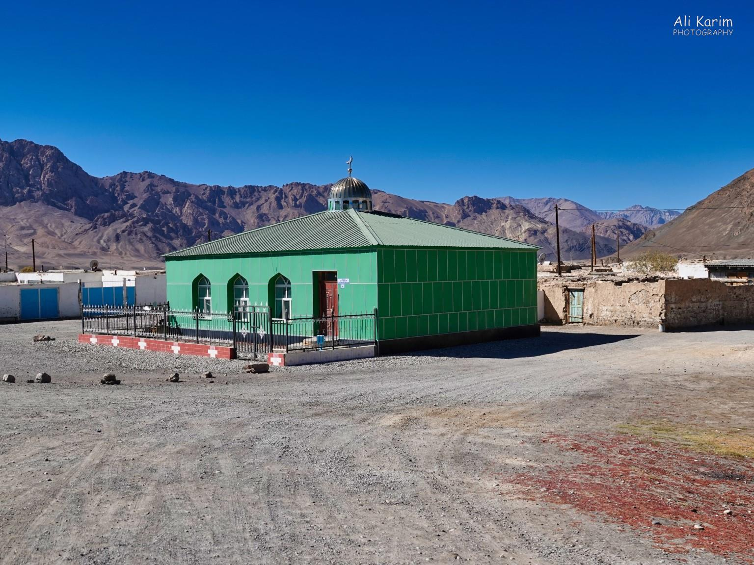 More Murghab & Alichur, Tajikistan, Interesting Mosque on the southern part of the town as we were leaving