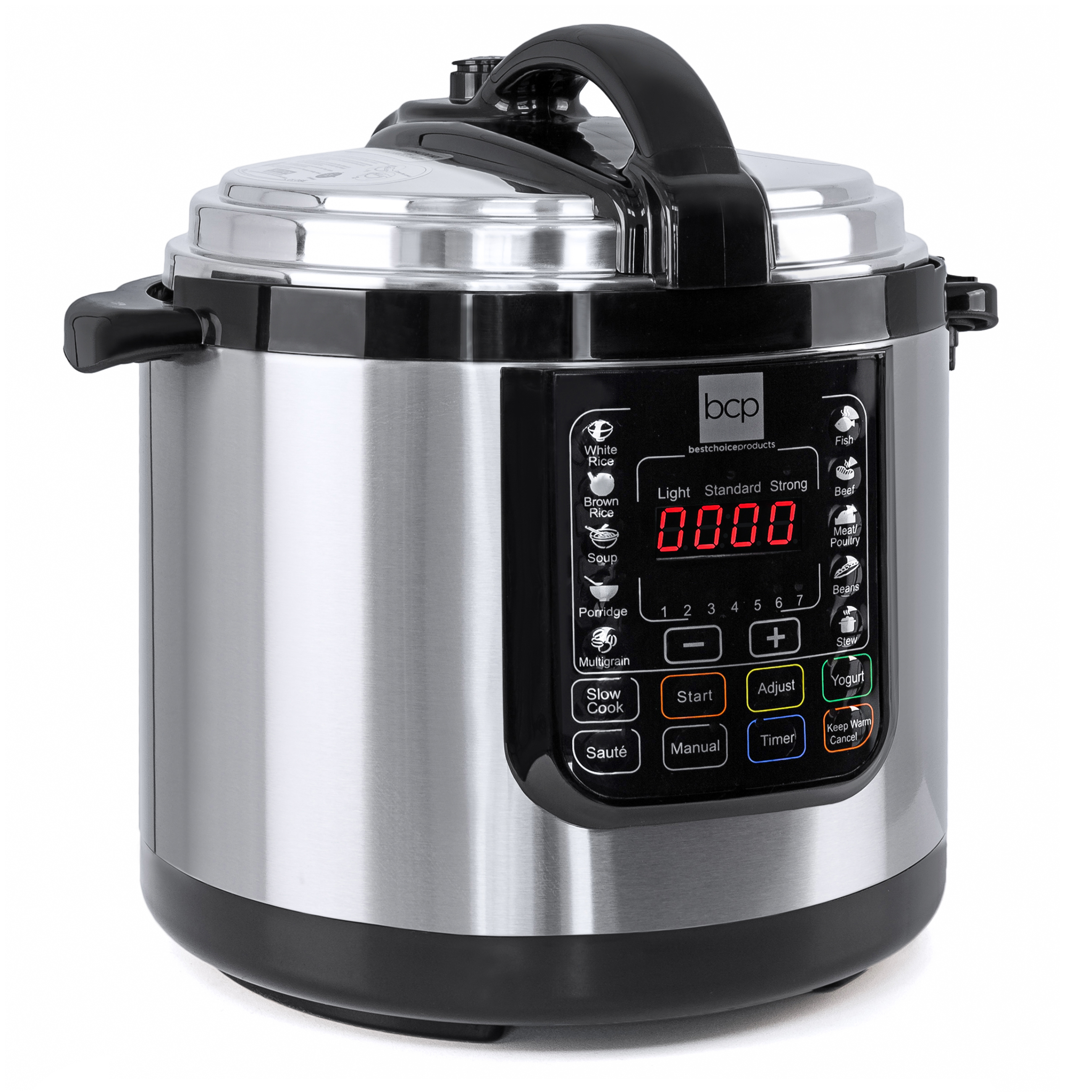 6 liter 1000 watt stainless steel electric pressure cooker for Electric pressure cooker fish recipes