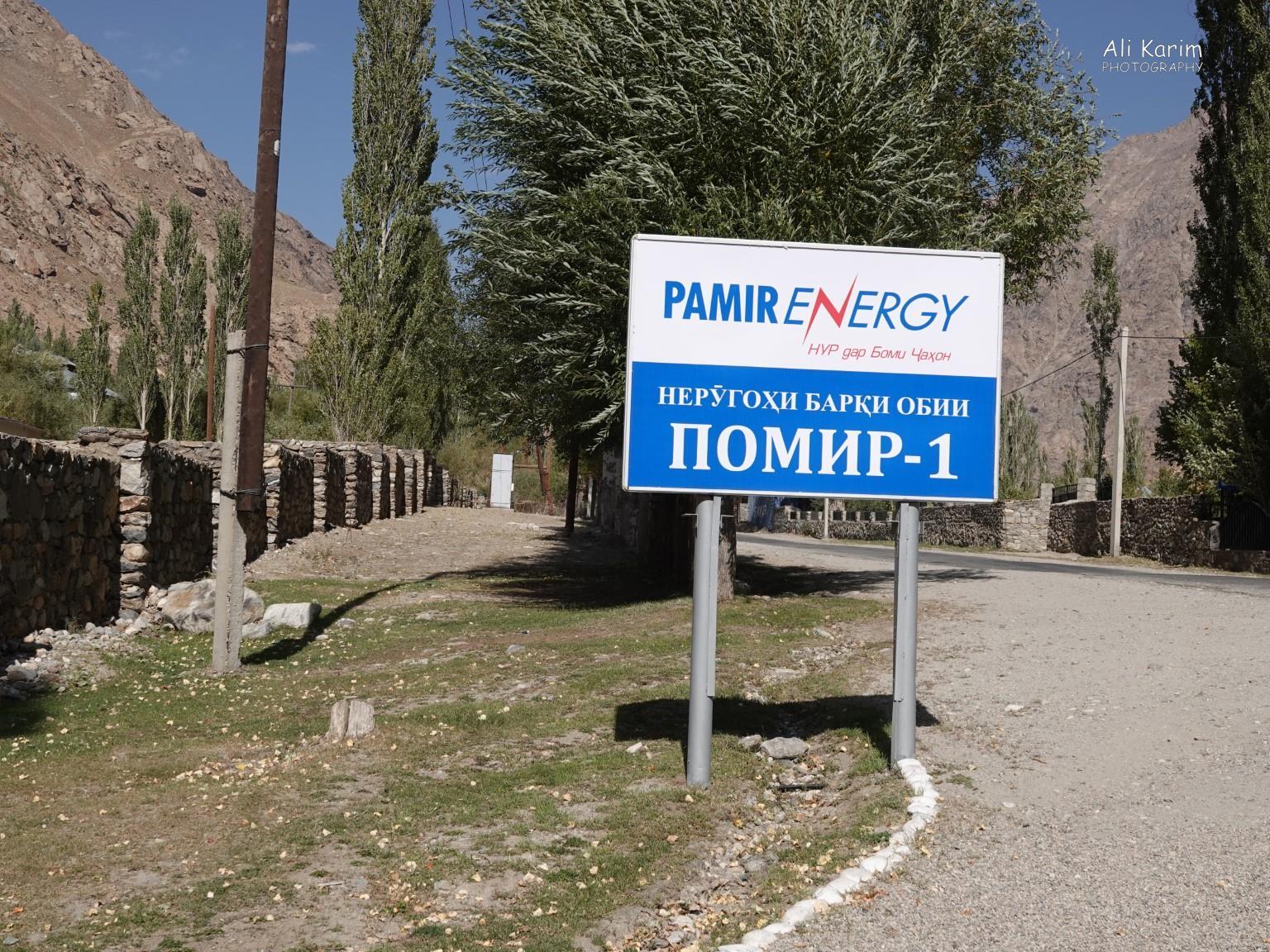 More Khorog, Tajikistan Pamir Energy