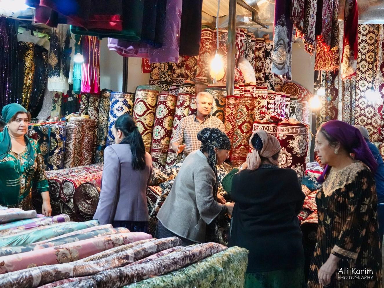 Bukhara, Oct 2019, Rugs and cloth