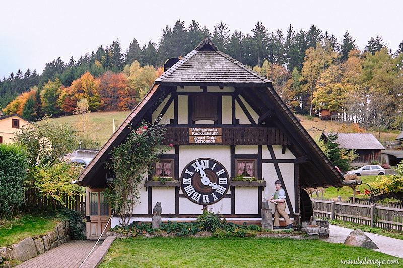 relojes de cuco de Triberg