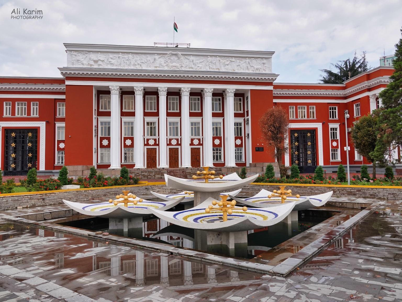 More Dushanbe, Tajikistan Parliament buildings