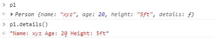 class method in JavaScript