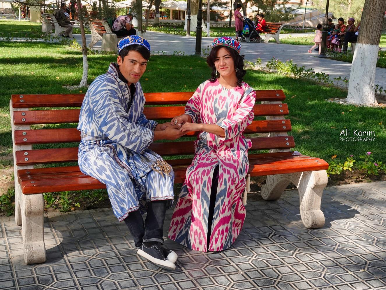 Bukhara, Oct 2019, Local traditional costumes