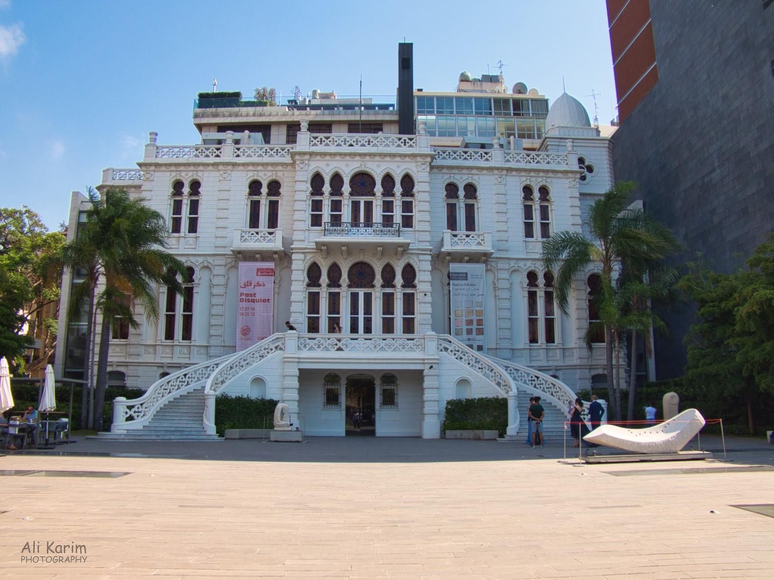 Sursock Museum building, which used to be the home of someone wealthy