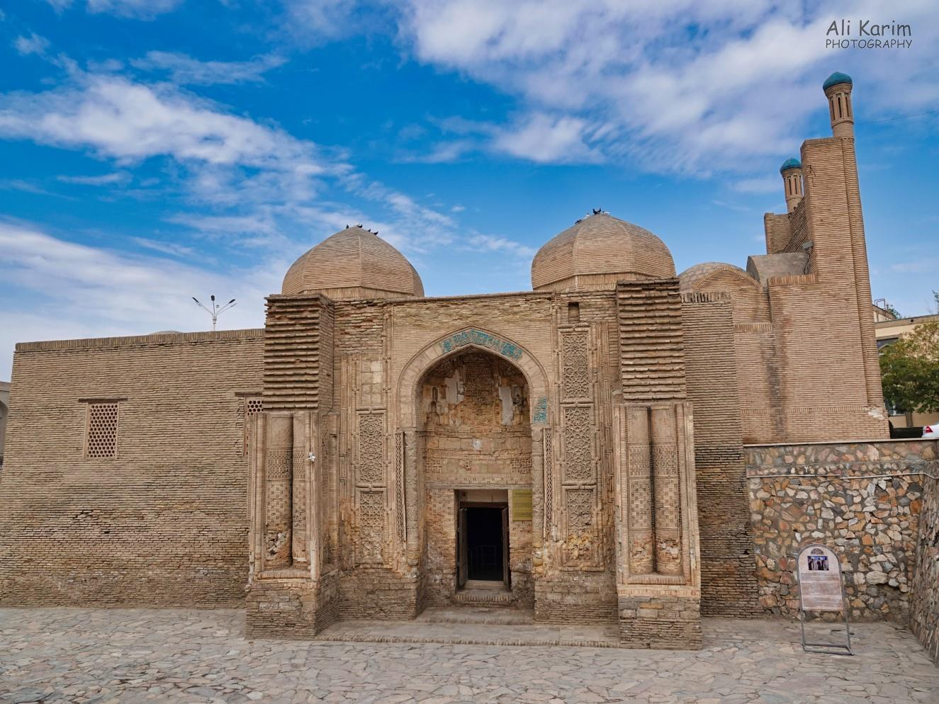 Bukhara, Oct 2019, Old mosque, restored