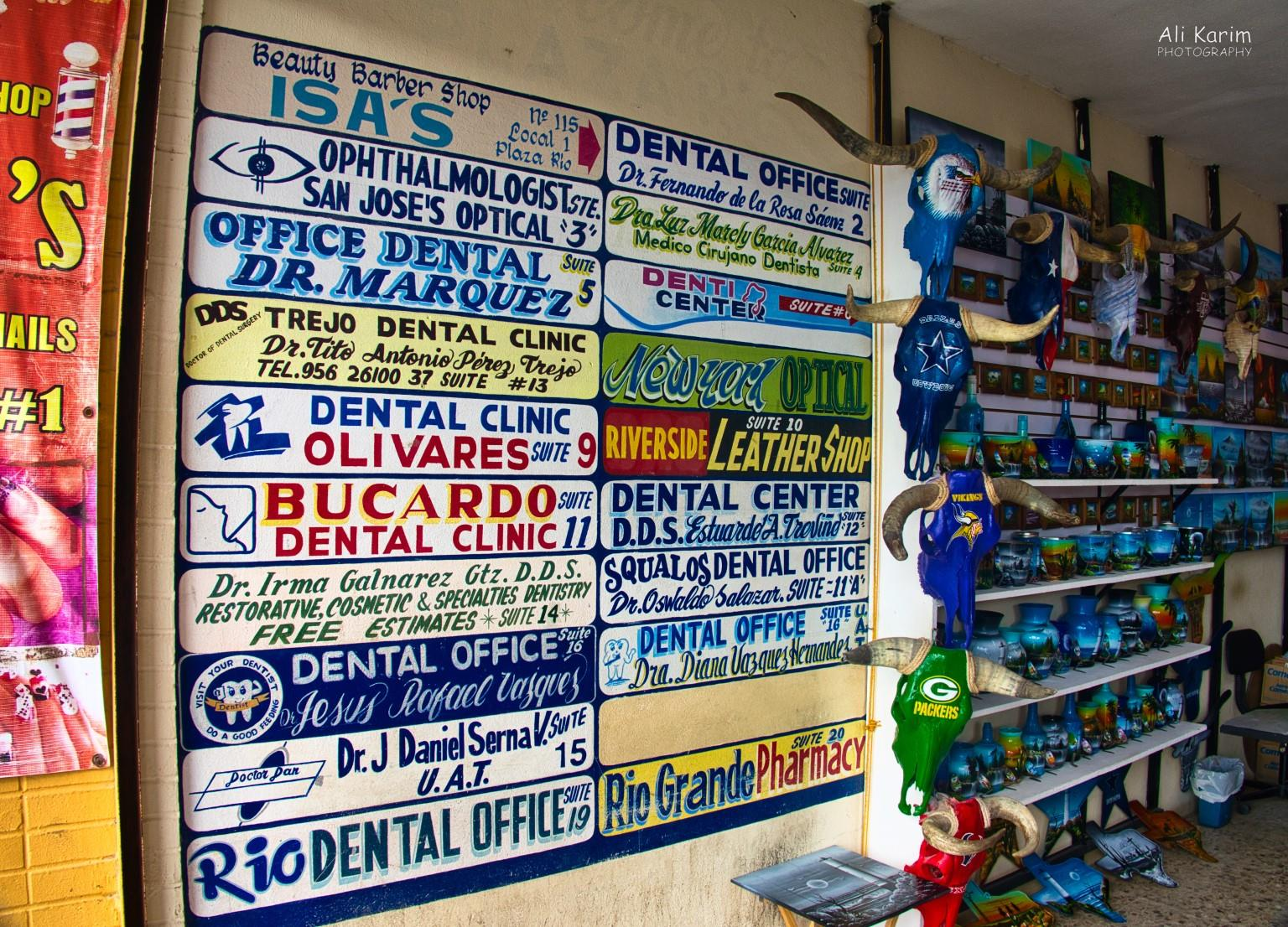 Dental Refugee, Nuevo Progresso, Mexico There are dentists galore here, for several blocks deep and several blocks wide, into the town. So having a recommendation is paramount.