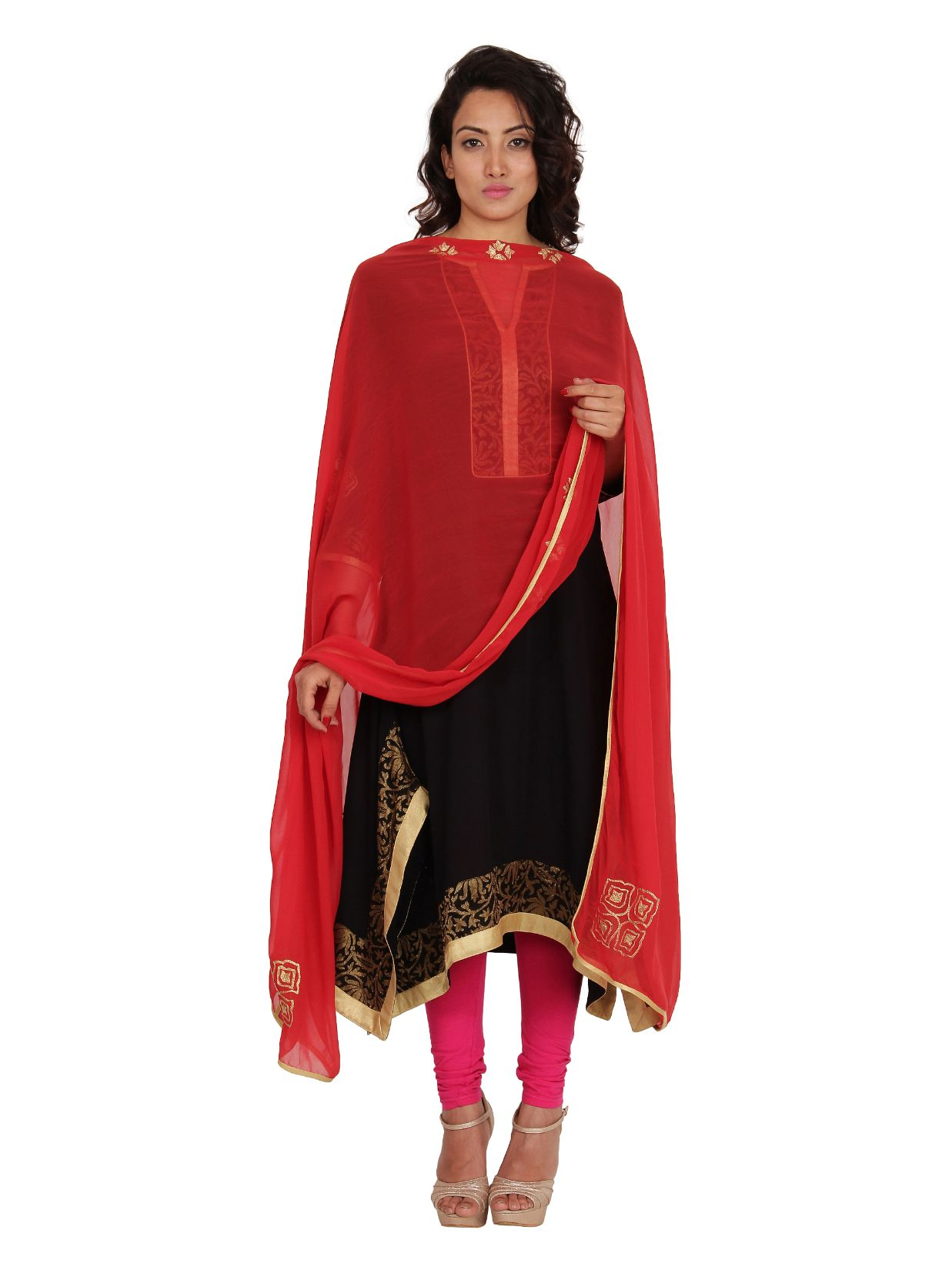 Neemrana Embroidered Chunni