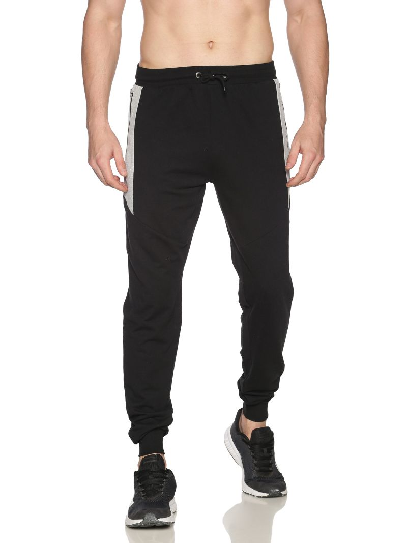 ATIVO Stylish Joggers-Colour Caviar Black (Recycled Fabric)