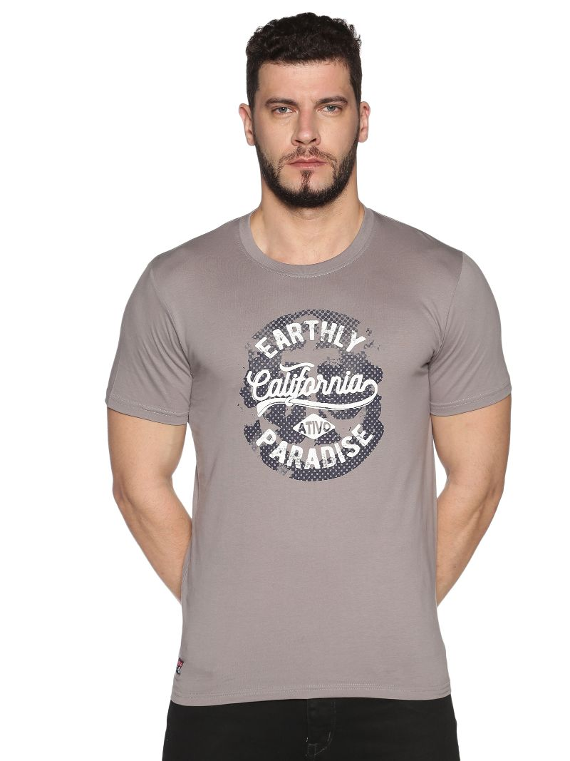 Grey California Paradise Tee