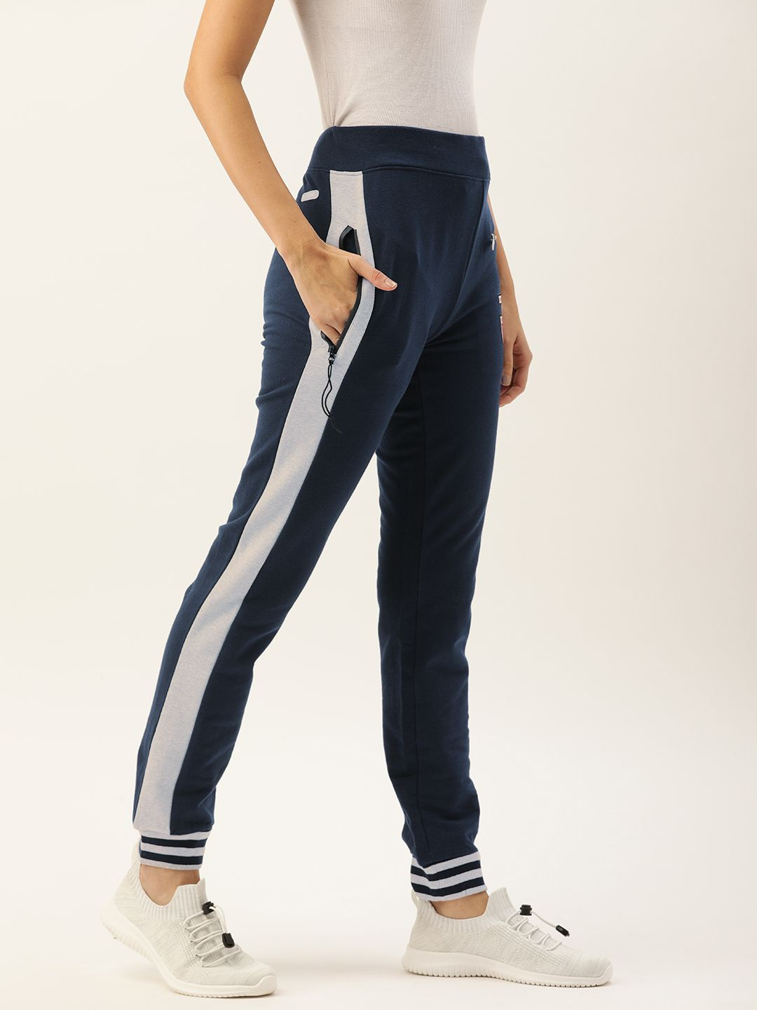 Slumber Jill Navy Joggers with Badges