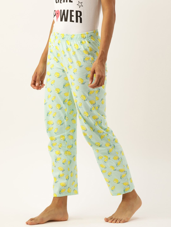 Slumber Jill Lemons Sky Blue AOP Lounge Pants
