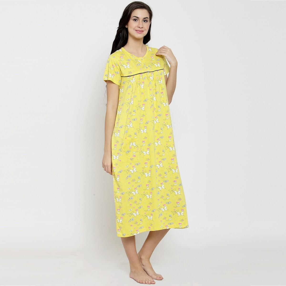 Meadowlark Butterfly AOP Night Dress