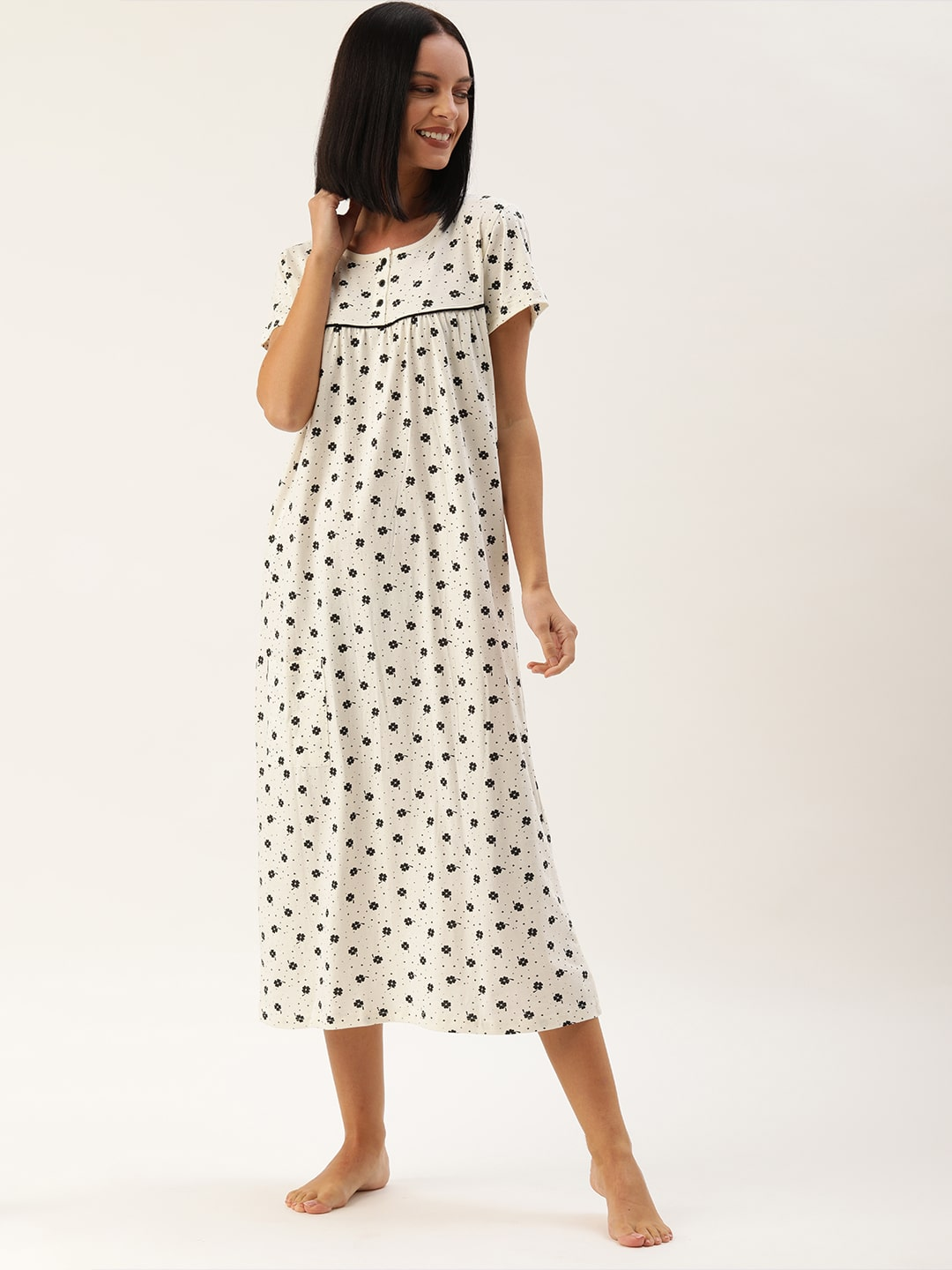 Slumber Jill Snow White Clover Love Night Dress