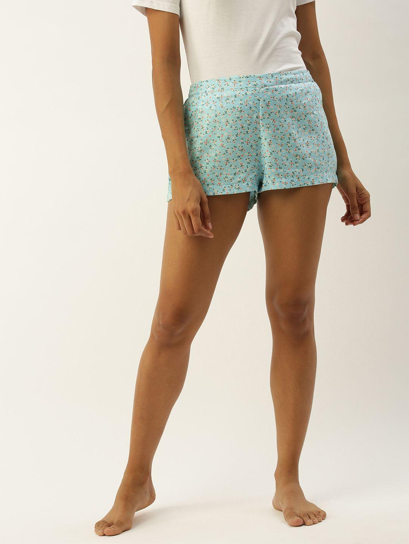 Chloe-F Blue Shorts
