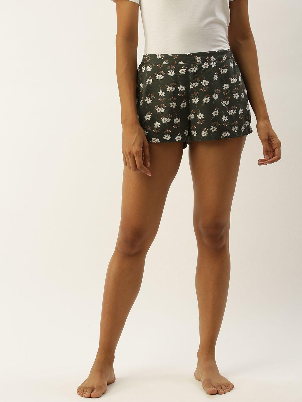 Chloe-F Khaki Shorts