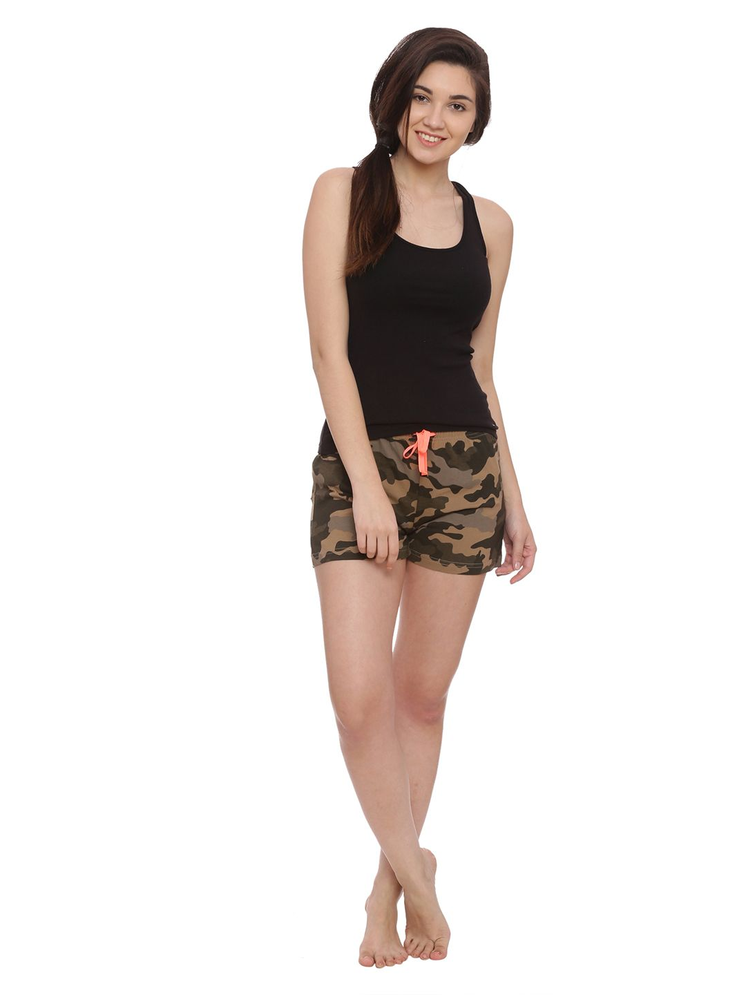 Slumber Jill Nothing in Common Camouflage Lounge Shorts