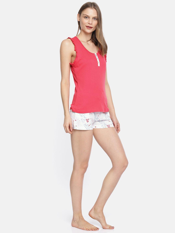 Slumber Jill Spring Blossom AOP Shorts Set