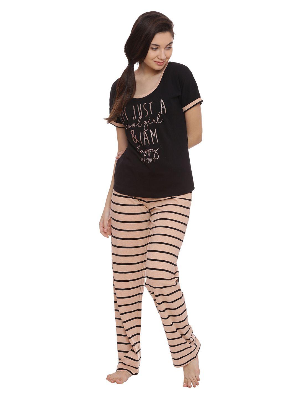 Slumber Jill Shine Bright Everyday Stripes Lounge Set