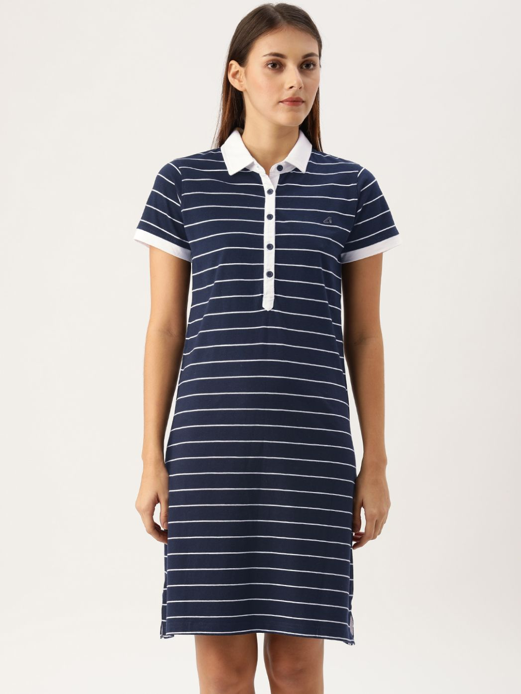 SJ Active Mariner Navy / White Polo Dress
