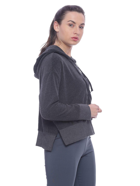Slumber Jill  Terry Lounge Jacket with Side Slits