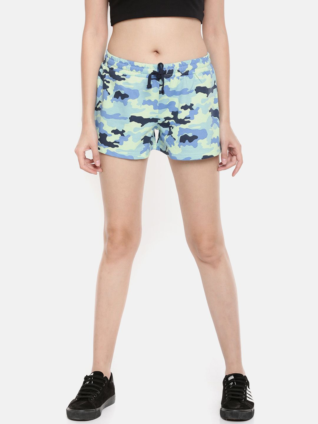 SJ Camouflage Fleece Shorts