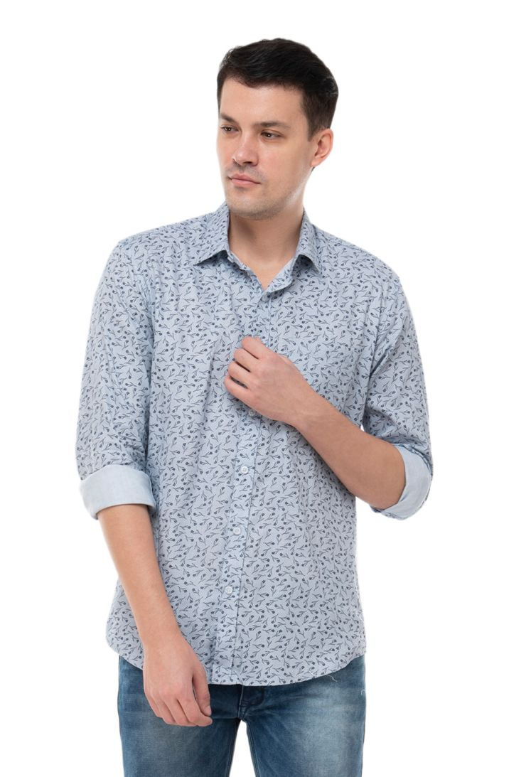 LIGHT GREY Shirt-ATM-AU177M
