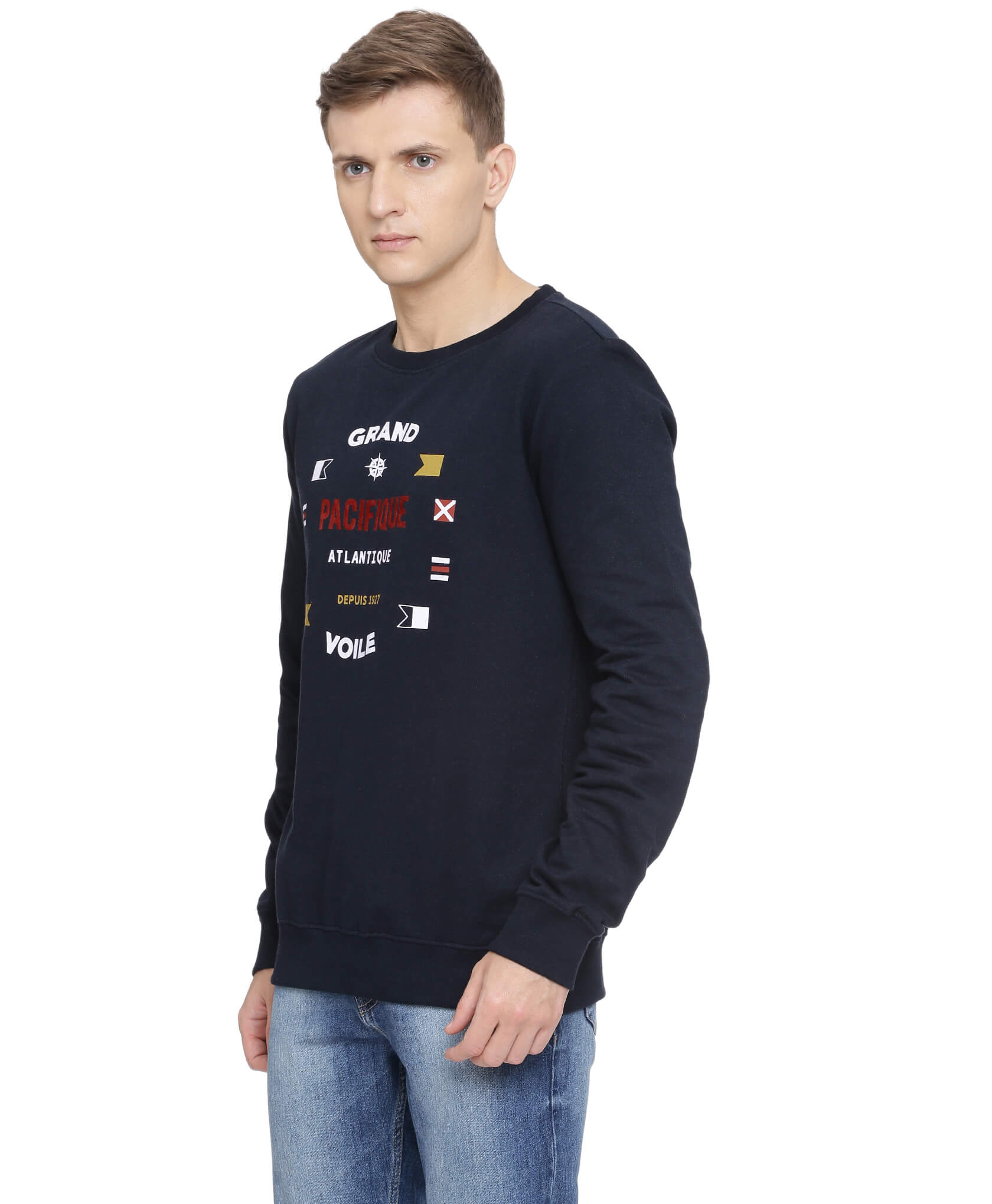ATIVO-GV Collection Navy Sweat