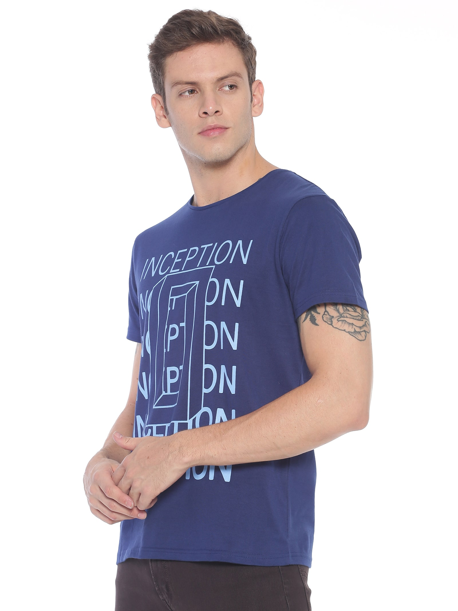 ATIVO Navy Inception Tee
