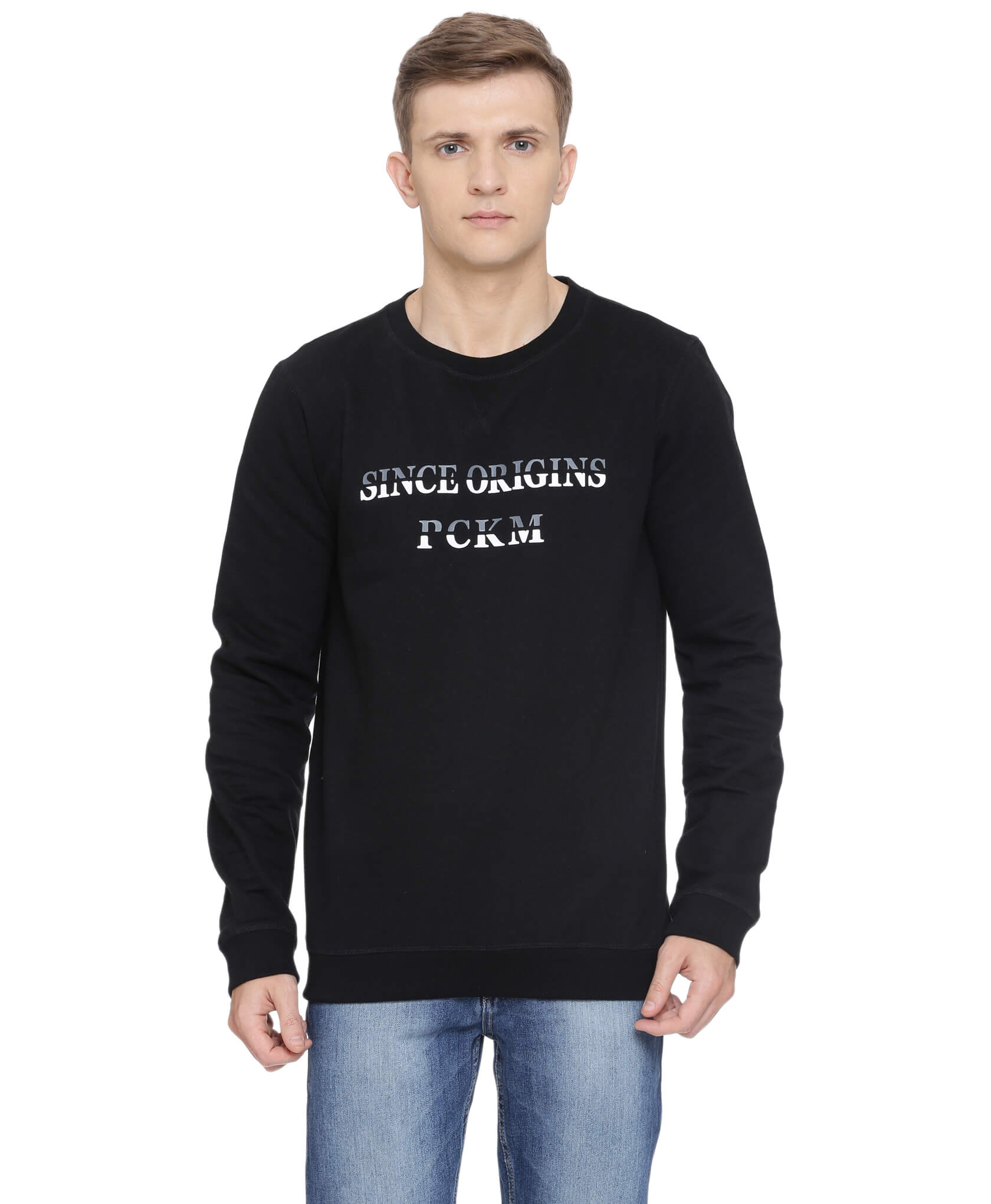 ATIVO-PCKM Collection Black Sweat