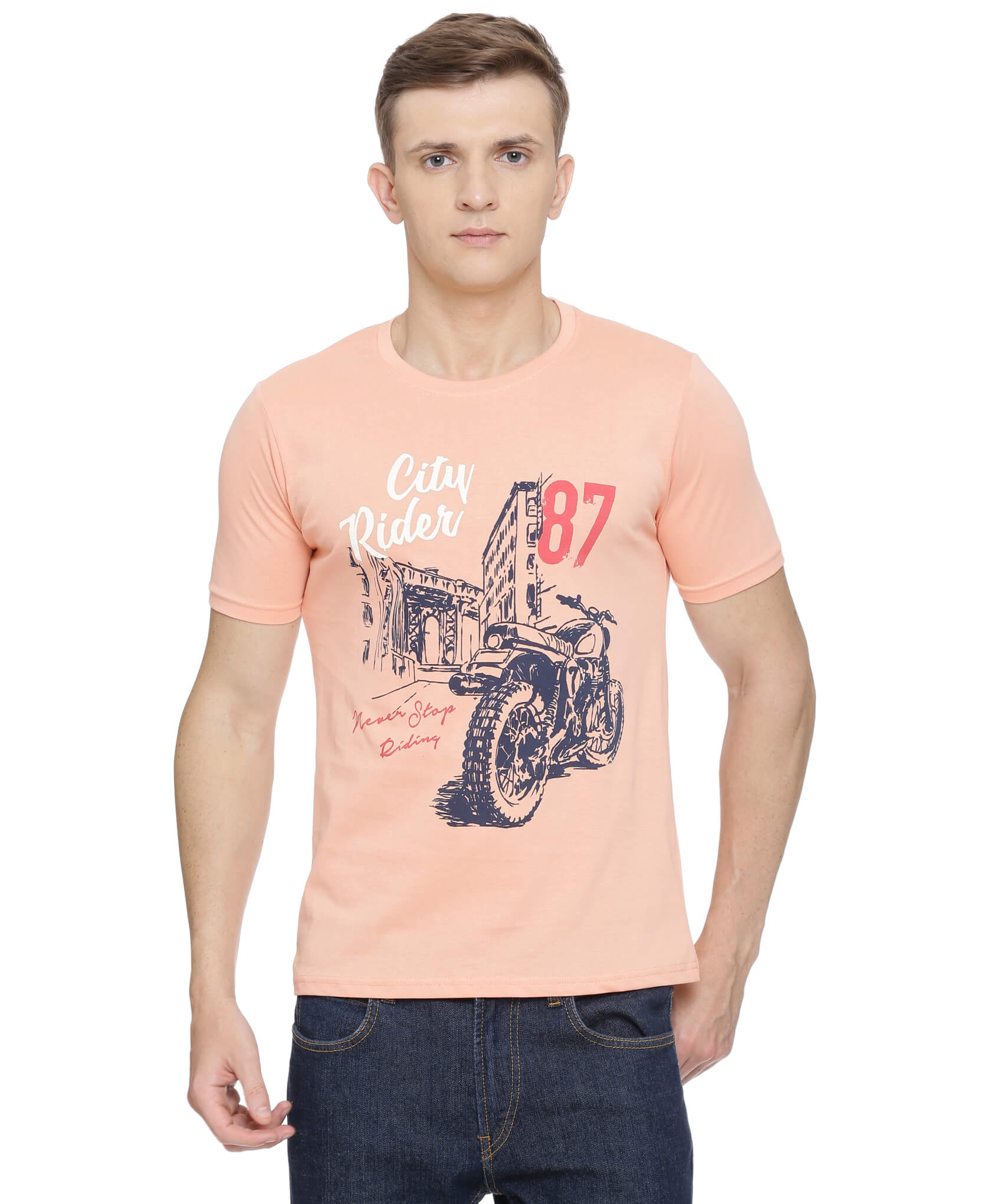ATIVO Coral 87 City Rider Tee